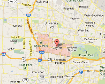 Appliance Repairs In Clayton Mo Map Service Coverage Areas