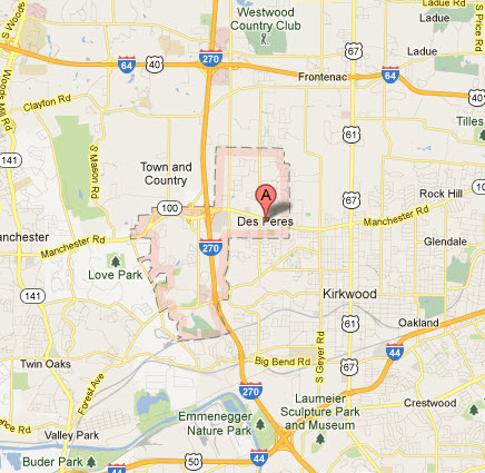 Appliance Repairs In Des Peres Mo Map Service Coverage Areas