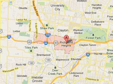 Appliance Repairs In Richmond Heights Mo Service Map Coverage Areas