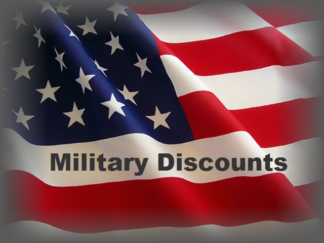 All American Appliance of St Louis Mo offers Military Discounts